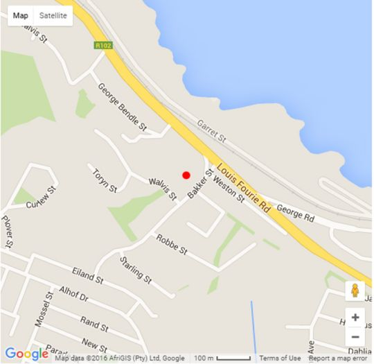 Map 307 Nautica in Mossel Bay  Garden Route  Western Cape  South Africa