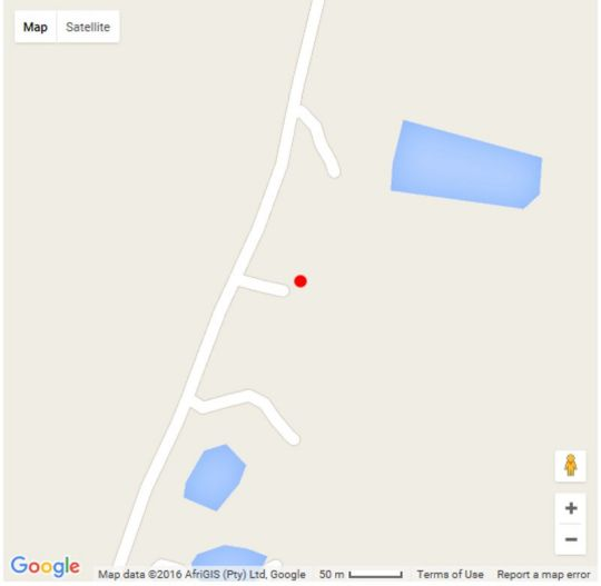 Map Galloway Guest House in Robertson  Breede River Valley  Western Cape  South Africa