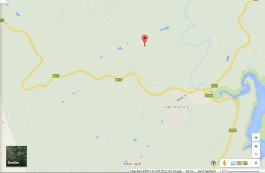 Map Silver Mist Resort in Haenertsburg  Valley of the Olifants  Limpopo  South Africa