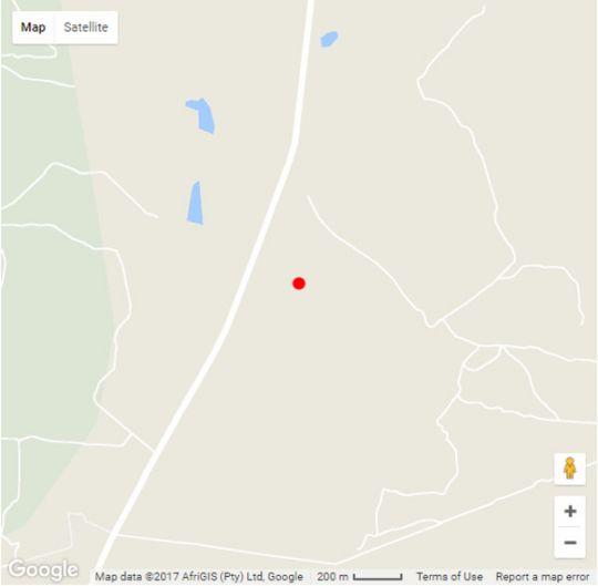 Map  Thaba Pitsi Safari Lodge in Bela Bela  Bushveld  Limpopo  South Africa