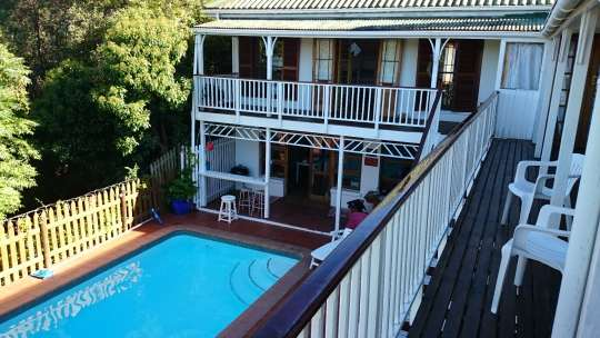 Map Bluesky Backpacker & Lodge in Knysna  Garden Route  Western Cape  South Africa