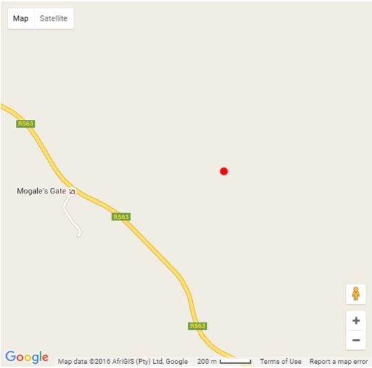Map Sibani Lodge in Krugersdorp Central  Krugersdorp  West Rand  Gauteng  South Africa