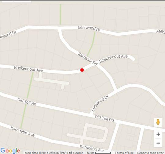 Map Footprints of Knysna in Knysna  Garden Route  Western Cape  South Africa