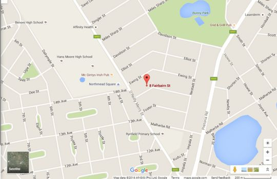 Map In and Out Guest Lodge  in Boksburg  Ekurhuleni (East Rand)  Gauteng  South Africa