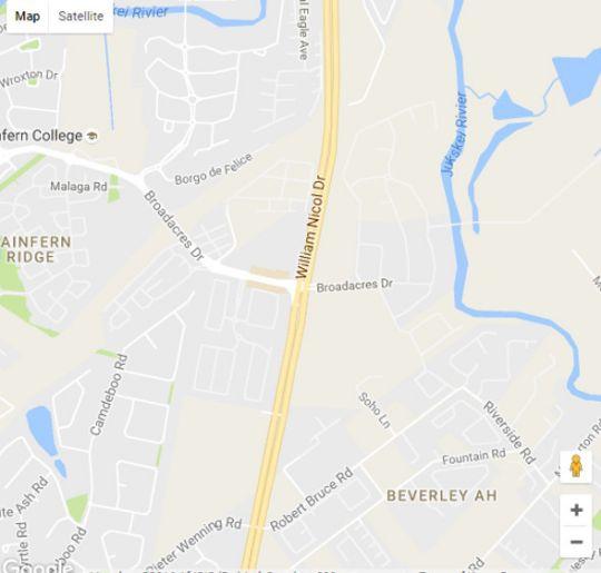 Map Trish\'s Executive Apartment in Fourways  Sandton  Johannesburg  Gauteng  South Africa