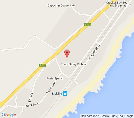 Map Mariannhill Coolock House  in Melville (KZN)  South Coast (KZN)  KwaZulu Natal  South Africa