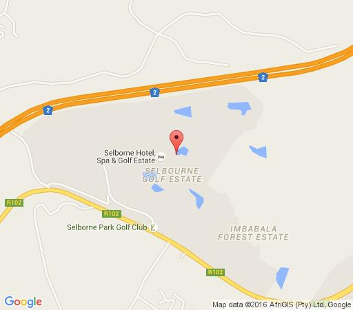 Map Cherry Lodge in Pennington  South Coast (KZN)  KwaZulu Natal  South Africa