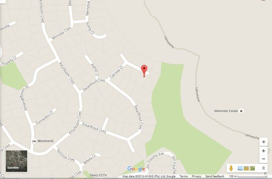 Map The Magic Manor in Plattekloof  Northern Suburbs (CPT)  Cape Town  Western Cape  South Africa