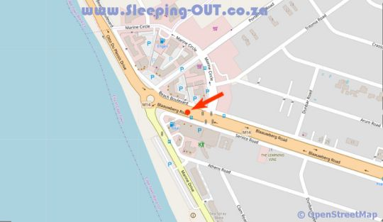 Map Horizon Bay 1206  in Table View  Blaauwberg  Cape Town  Western Cape  South Africa