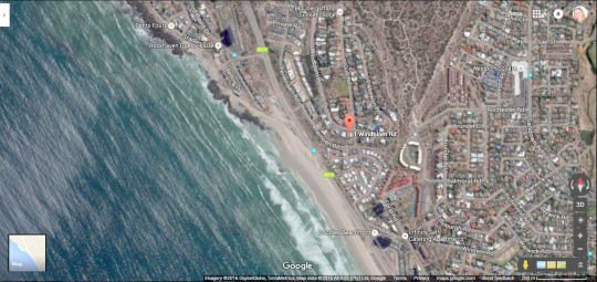 Map Seize The Bay in Bloubergstrand  Blaauwberg  Cape Town  Western Cape  South Africa