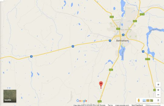 Map Rehoboth and Meerkat Lodges in Clarens  Thabo Mofutsanyana  Free State  South Africa
