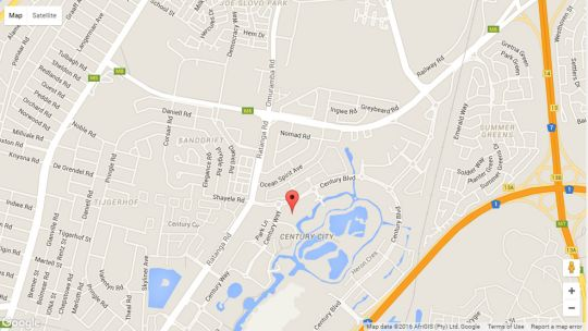 Map 301 Quayside  in Century City  Blaauwberg  Cape Town  Western Cape  South Africa