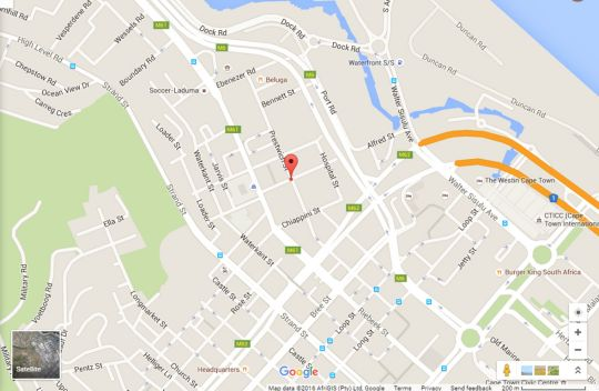 Map Rockwell 316  in De Waterkant  City Bowl  Cape Town  Western Cape  South Africa