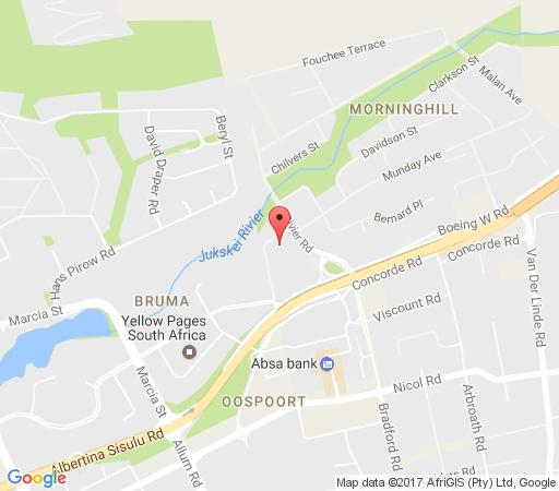 Map House On Morninghill in Bedfordview  Ekurhuleni (East Rand)  Gauteng  Zuid-Afrika