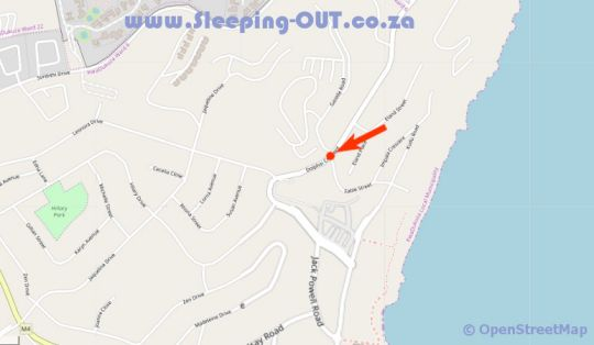 Map Villa Med 10 in Ballito  North Coast (KZN)  KwaZulu Natal  South Africa