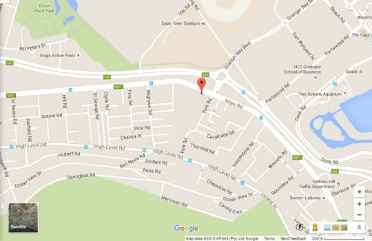 Map Sonwyck 7 in Green Point  Atlantic Seaboard  Cape Town  Western Cape  South Africa