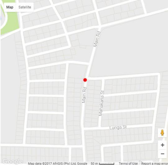 Map Addo Self-Catering in Addo  Cacadu (Sarah Baartman)  Eastern Cape  South Africa