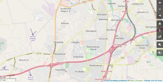 Map Owls Loft Guest House in Kyalami  Midrand  Johannesburg  Gauteng  South Africa