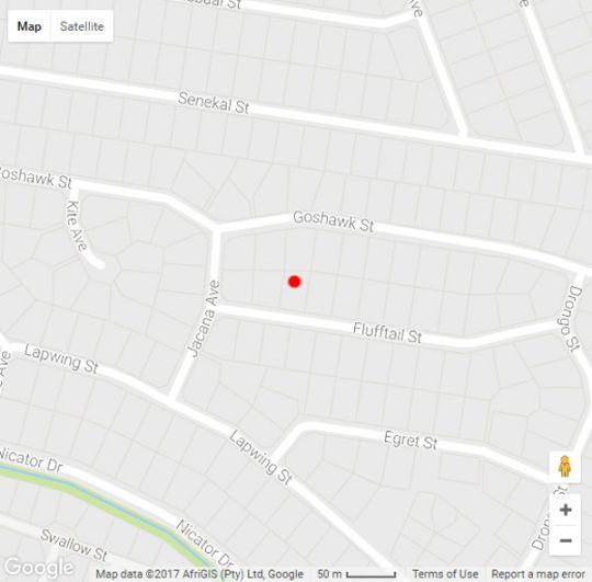 Map Condor House in Rooihuiskraal North  Centurion  Pretoria / Tshwane  Gauteng  South Africa