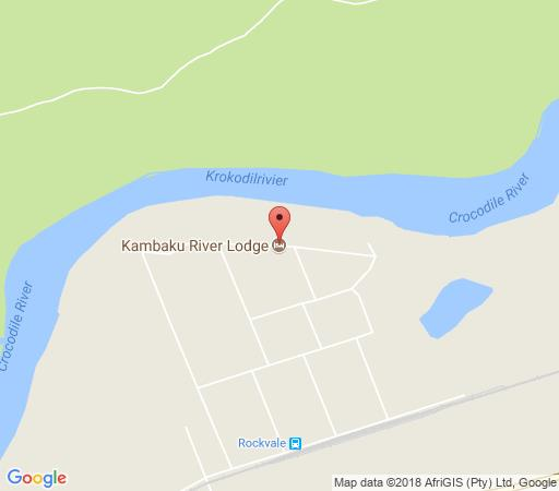 Map Kambaku River Lodge in Malelane  Kruger National Park (MP)  Mpumalanga  South Africa