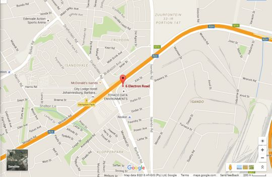 Map Airport Inn - Executive Suites in Kempton Park  Ekurhuleni (East Rand)  Gauteng  South Africa
