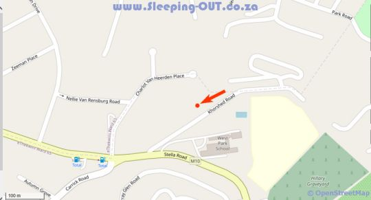 Map Lily\'s Loft Durban West in Queensburgh  Southern Suburbs (DBN)  Durban and Surrounds  KwaZulu Natal  South Africa