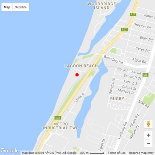 Map Neptunes Isle Apartment with a View in Milnerton  Blaauwberg  Cape Town  Western Cape  South Africa