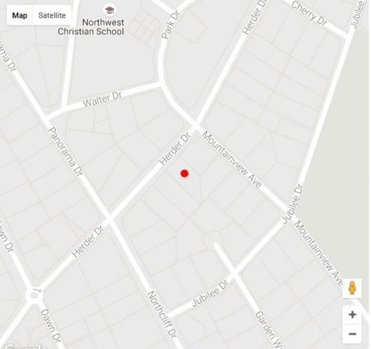 Map Northcliff Bed and Breakfast in Northcliff  Northcliff/Rosebank  Johannesburg  Gauteng  South Africa