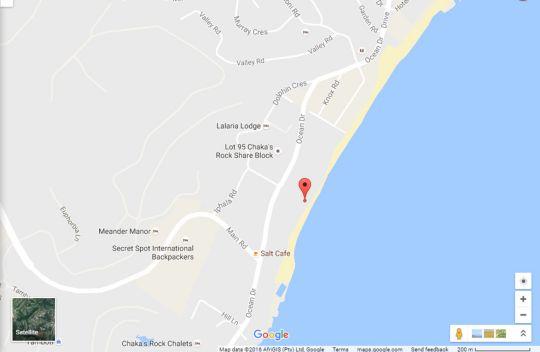 Map Villa Flamenco 15 in Salt Rock  North Coast (KZN)  KwaZulu Natal  South Africa