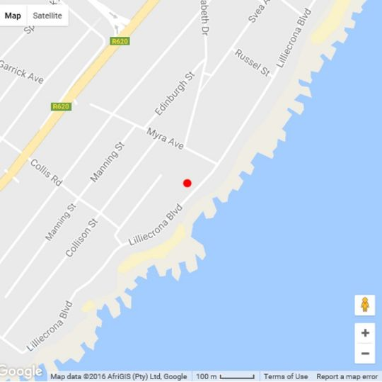 Map Natspat 20 in Margate  South Coast (KZN)  KwaZulu Natal  South Africa
