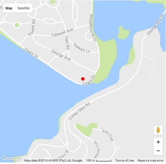 Map Lovemore Lodges Knysna in Knysna  Garden Route  Western Cape  South Africa