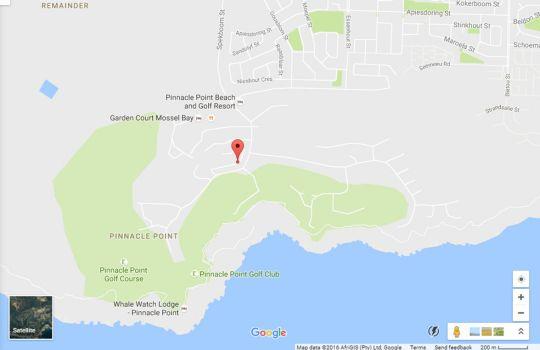 Map Fynbos 40 in Mossel Bay  Garden Route  Western Cape  South Africa