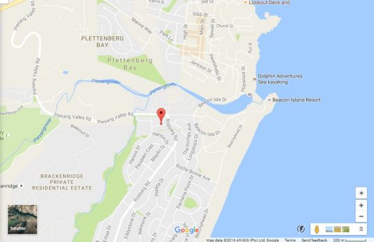 Map 2 Greenpoint Mews in Plettenberg Bay  Garden Route  Western Cape  South Africa