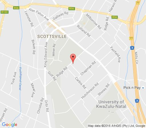 Map 79 On Ridge Bed and Breakfast in Scottsville  Pietermaritzburg  Midlands  KwaZulu Natal  South Africa