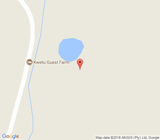 Map Kwetu Guest Farm in Swellendam  Overberg  Western Cape  South Africa