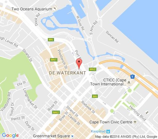 Map 606 Harbour Edge in Foreshore  City Bowl  Cape Town  Western Cape  South Africa