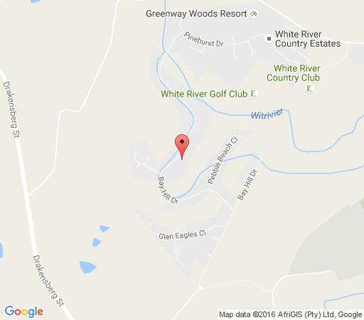 Map White River - Martin\'s Nest in White River  The Panorama  Mpumalanga  South Africa
