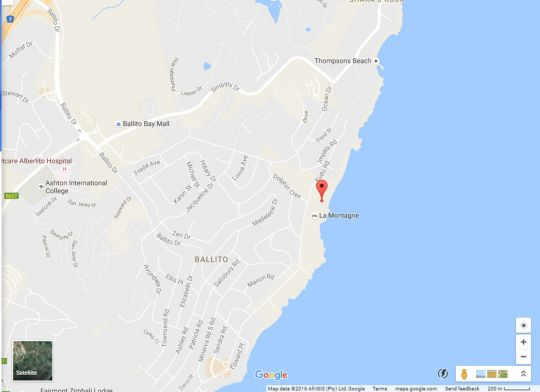 Map 305 Manor Gardens, Ballito in Ballito  North Coast (KZN)  KwaZulu Natal  South Africa