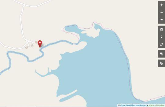 Map Valley Lakes in Underberg  Southern Drakensberg  Drakensberg (KZN)  KwaZulu Natal  South Africa