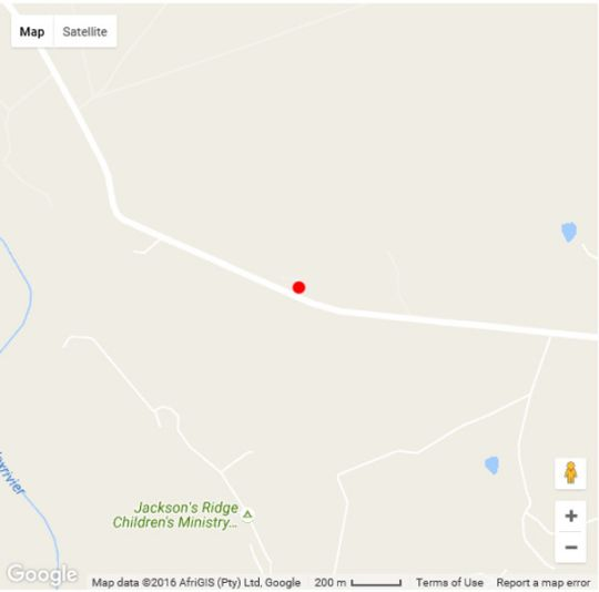 Map Magalies Bush Lodge in Magaliesburg  West Rand  Gauteng  South Africa
