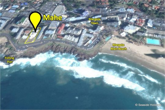 Map 8 Mahe in Margate  South Coast (KZN)  KwaZulu Natal  South Africa