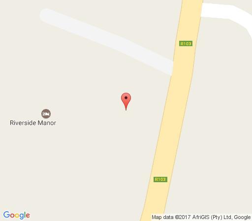 Map Riverside Manor in Rosetta  Midlands  KwaZulu Natal  South Africa