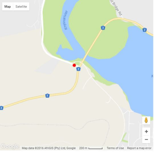 Map Lagoonview Villa in Knysna  Garden Route  Western Cape  South Africa