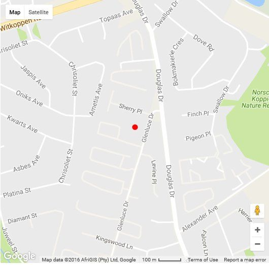 Map Closed Down in Fourways  Sandton  Johannesburg  Gauteng  South Africa