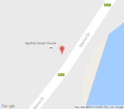 Map Agulhas Ocean House in Agulhas  Overberg  Western Cape  South Africa