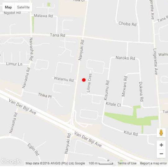 Map Sunninghill Guest Lodge in Sunninghill  Sandton  Johannesburg  Gauteng  South Africa