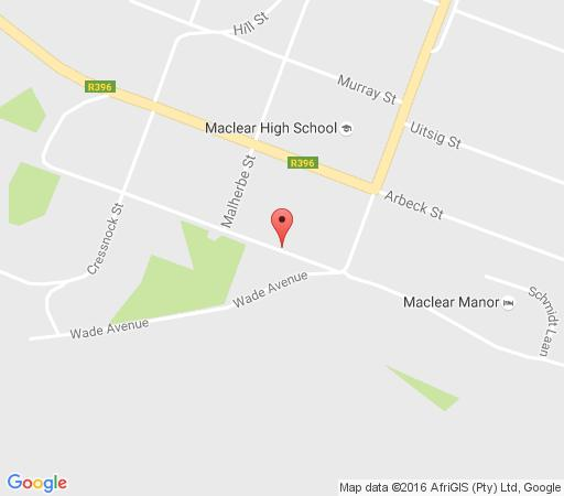 Map Villa Micasa in Maclear  Drakensberg (EC)  Eastern Cape  South Africa