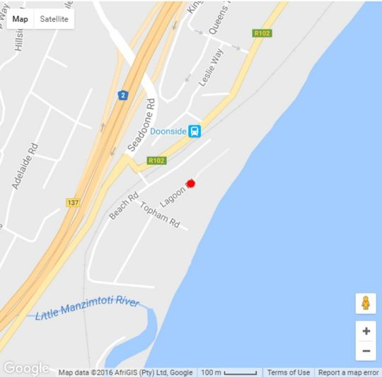 Map 3 Key Largo in Doonside  South Coast (KZN)  KwaZulu Natal  South Africa