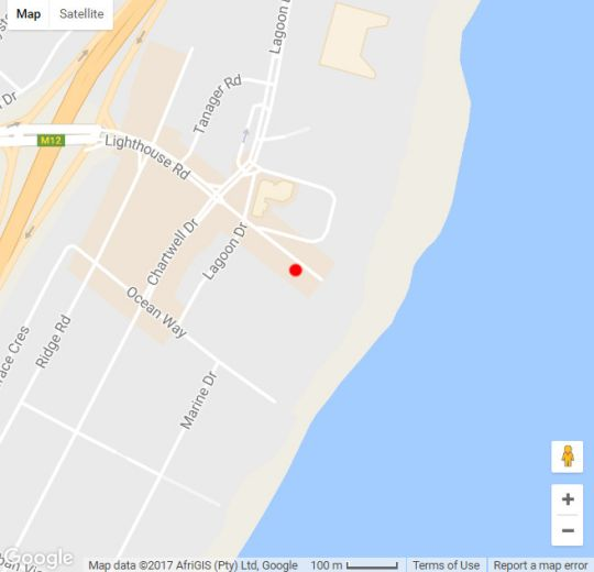 Map 702 Oyster Rock in Umhlanga Rocks  Umhlanga  Northern Suburbs (DBN)  Durban and Surrounds  KwaZulu Natal  South Africa