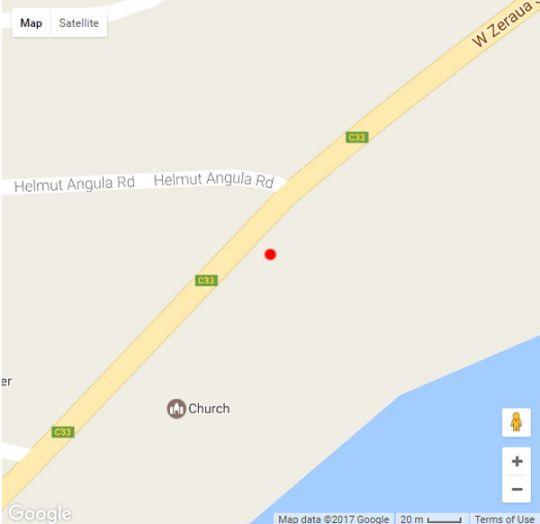 Map Central Hotel Omaruru in Omaruru  Erongo  Namibia
